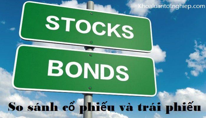 Hình ảnh so sánh cổ phiếu và trái phiếu 1