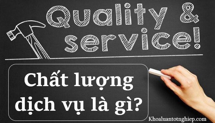 Hình ảnh chất lượng dịch vụ là gì 1